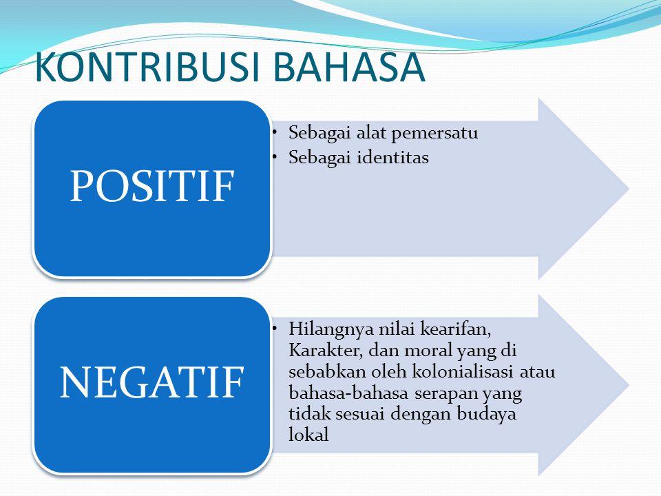 Nilai Moral Pembelajaran Bahasa Indonesia Dalam setiap putusan Kongres Bahasa Indonesia menjaga keabsahan Bahasa Indonesia dengan menyerap bahasa asing untuk memperkaya perbendaharaan kosakata bahasa tanpa mengklaim kata-kata tersebut berasal dari bahasa Indonesia.