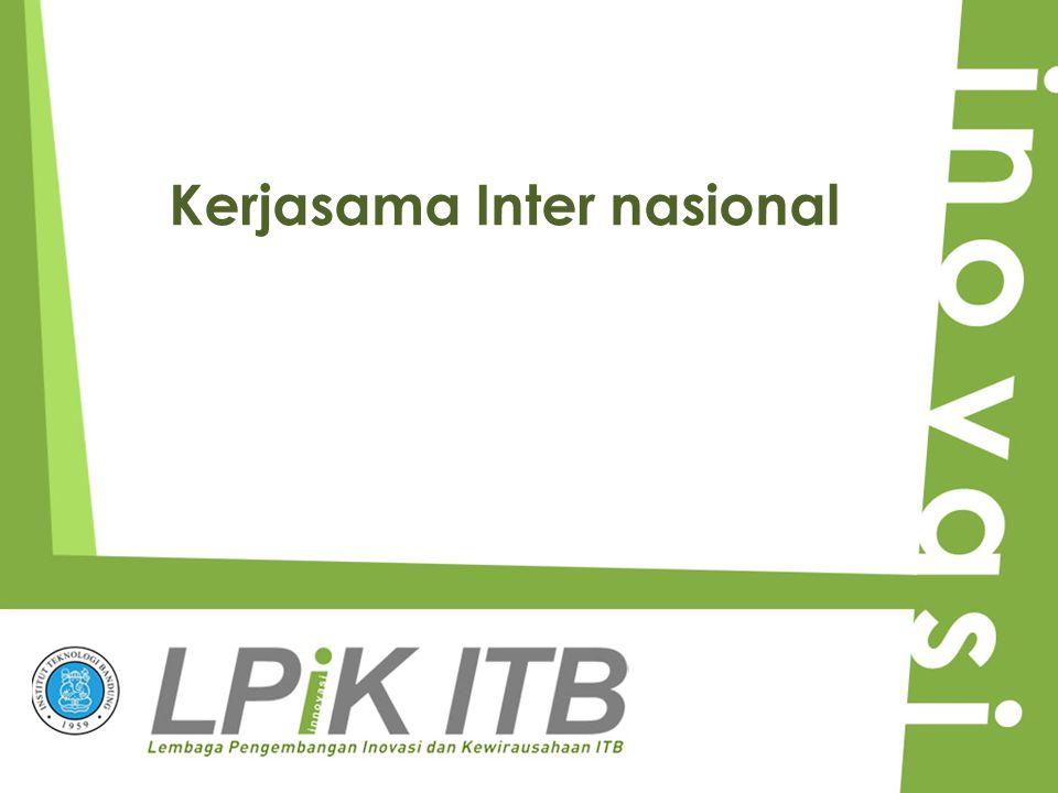 Kerjasama Inter nasional