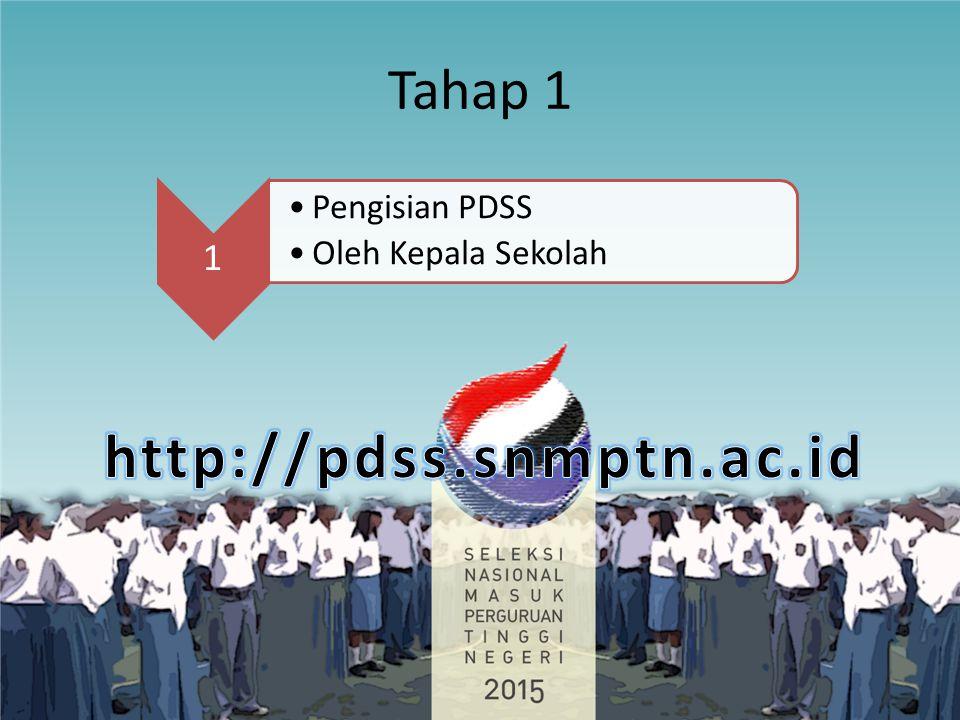 Tahap 1 1 Pengisian PDSS Oleh Kepala Sekolah