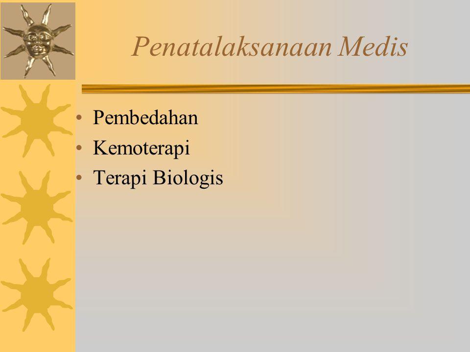 Penatalaksanaan Medis Pembedahan Kemoterapi Terapi Biologis