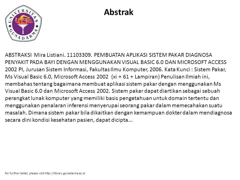 Abstrak ABSTRAKSI Mira Listiani.11103309.