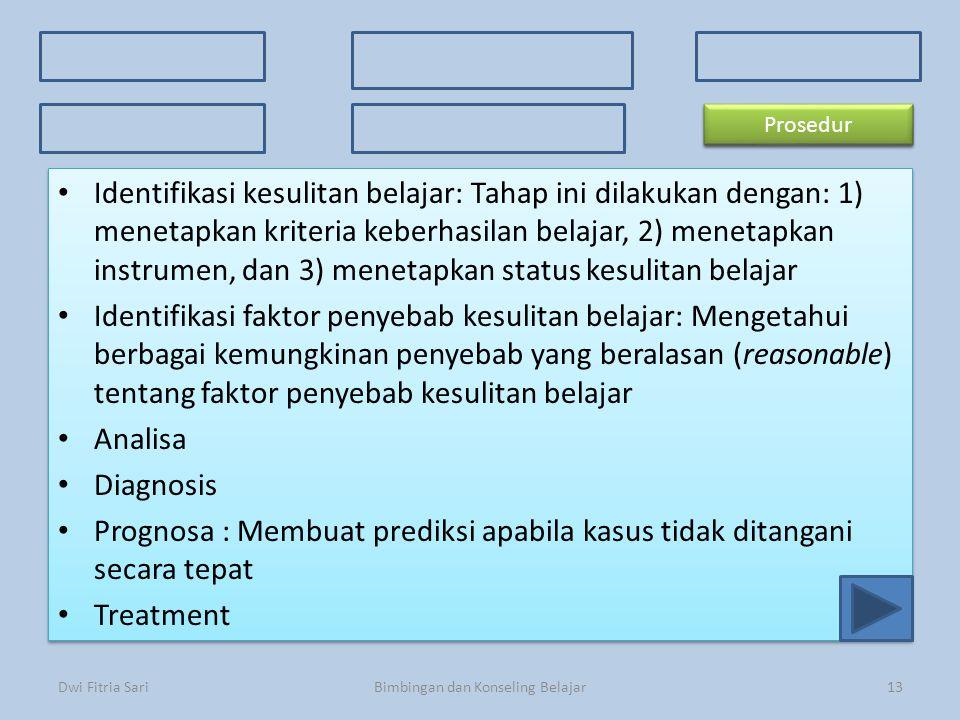 Konsep Dasar Faktor Penyebab 3 Kriteria Kesulitan Belajar 3 Kriteria Kesulitan Belajar Ciri-ciri Prosedur Macam-macam kesulitan Identifikasi kesulitan
