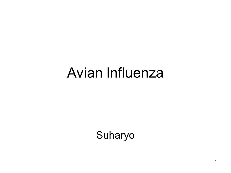 2 Pendahuluan Disebut juga Flu Burung (bird flu) Pertama ditemukan di Italia 100 th y.l Menyerang manusia pertama kali di Hongkong th 1997 ( 18 sakit, 6 meninggal) Merupakan penyakit baru Kerugian ekonomi sekitar 1 trilyun dolar
