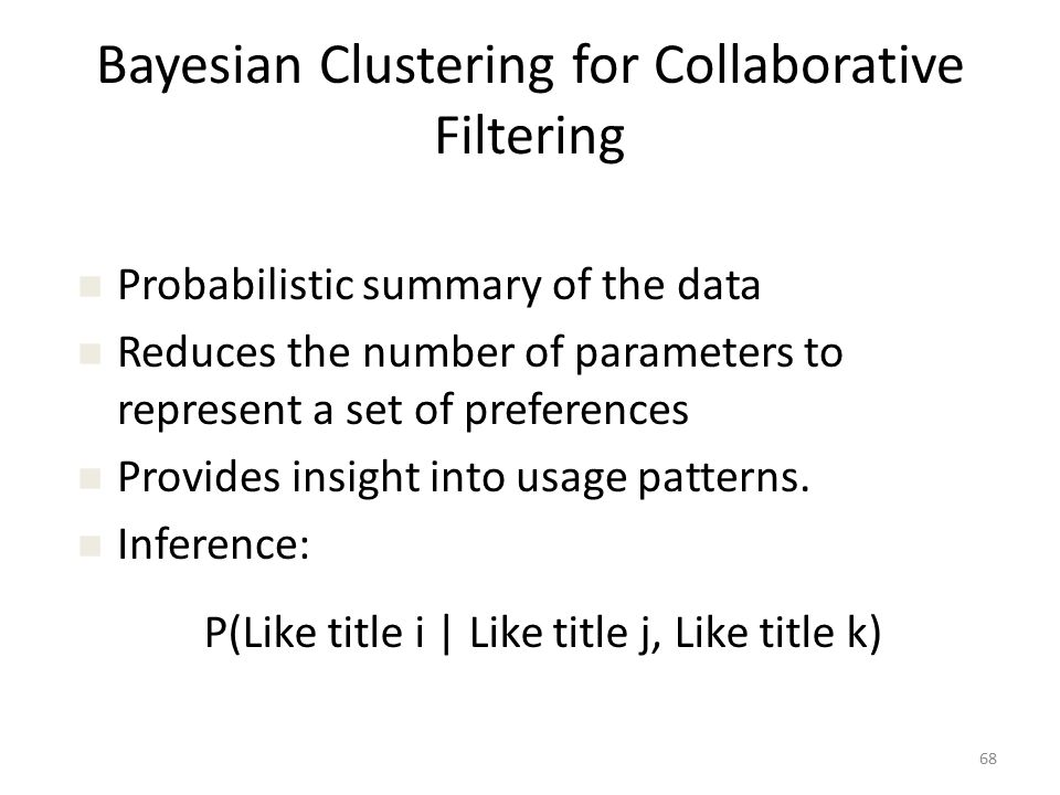 What is Collaborative Filtering.