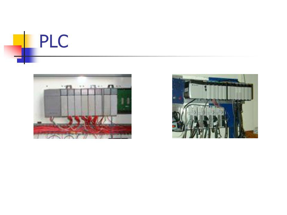 Operasi PLC Jantung dari PLC adalah Microprocessor atau CPU Processor membaca status dari module input Program-program logic dalam CPU di- scan