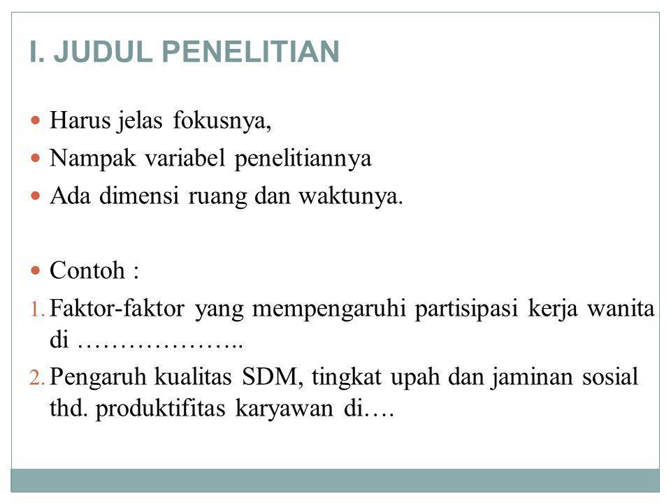 Metode Pengumpulan Data ParticipantStructured Mailed questionnaire Govt.