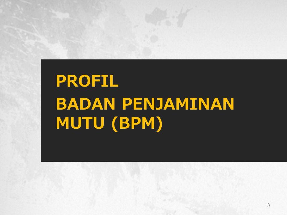 PROFIL BADAN PENJAMINAN MUTU (BPM) 3