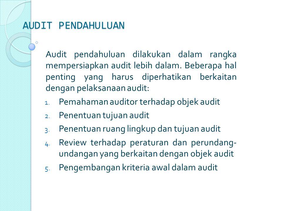 Dua cara penyajian laporan audit manajemen, yaitu: a.