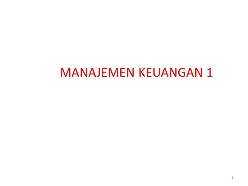 MANAJEMEN KEUANGAN 1 1