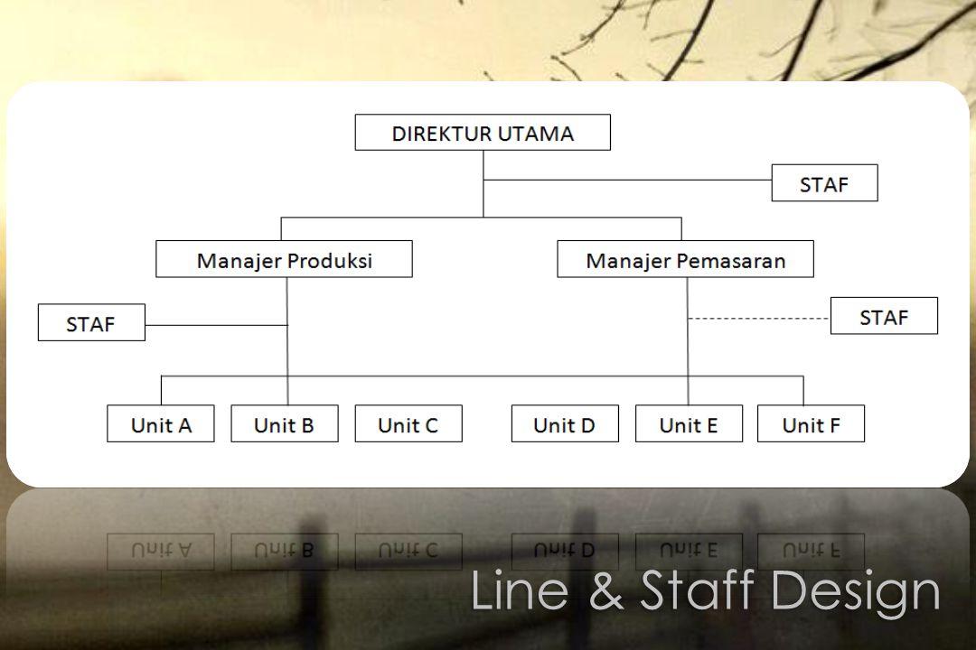 Line & Staff Design