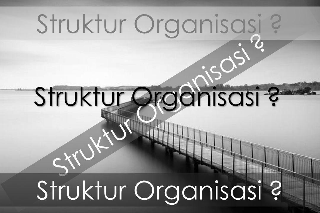 Struktur Organisasi ?