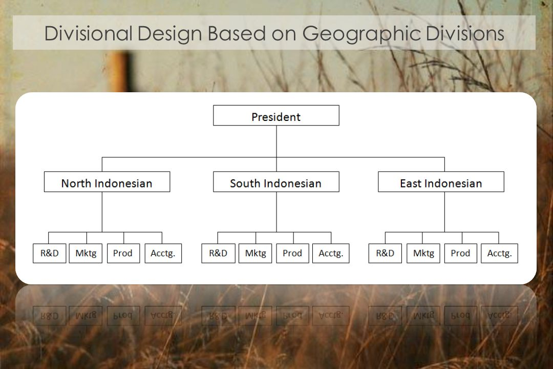 Divisional Design Based on Geographic Divisions