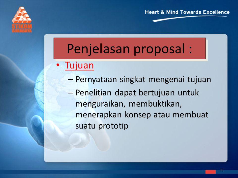 Pengumpulan Proposal Pertemuan ke-3, wajib dikumpulkan Syarat sesuai format yang telah ditentukan.