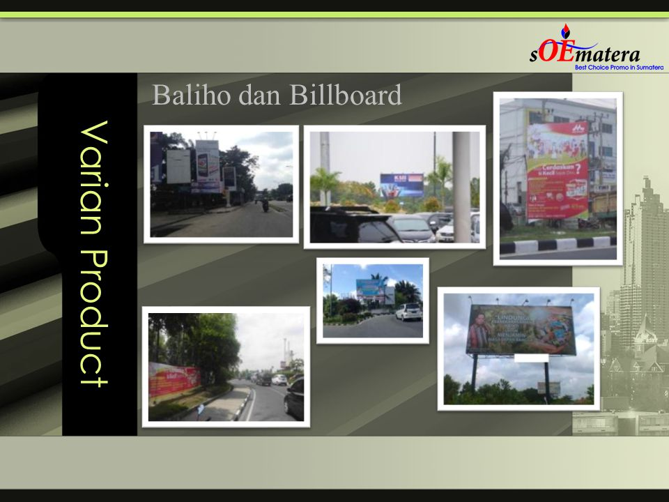 Varian Product Baliho dan Billboard