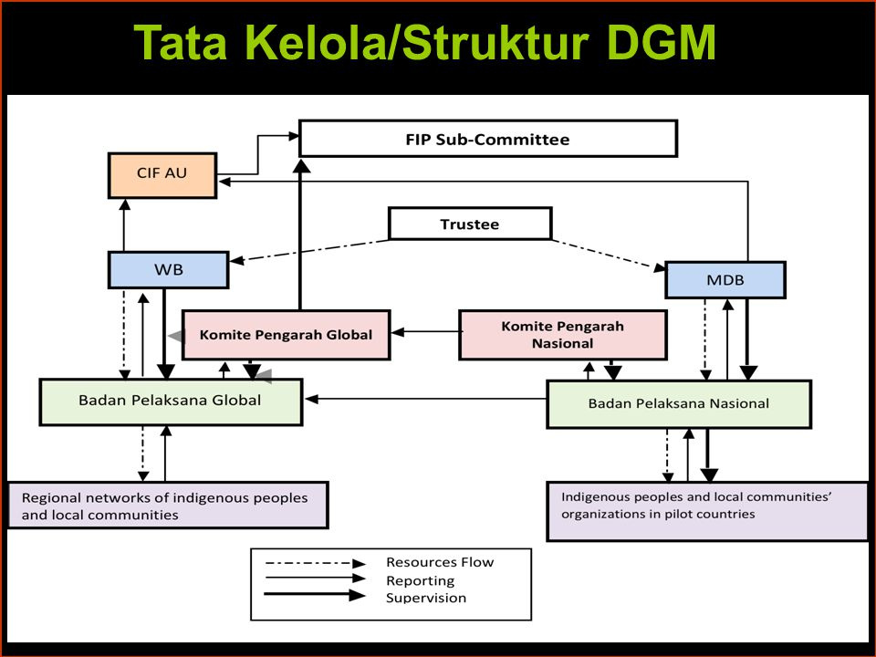 Tata Kelola/Struktur DGM