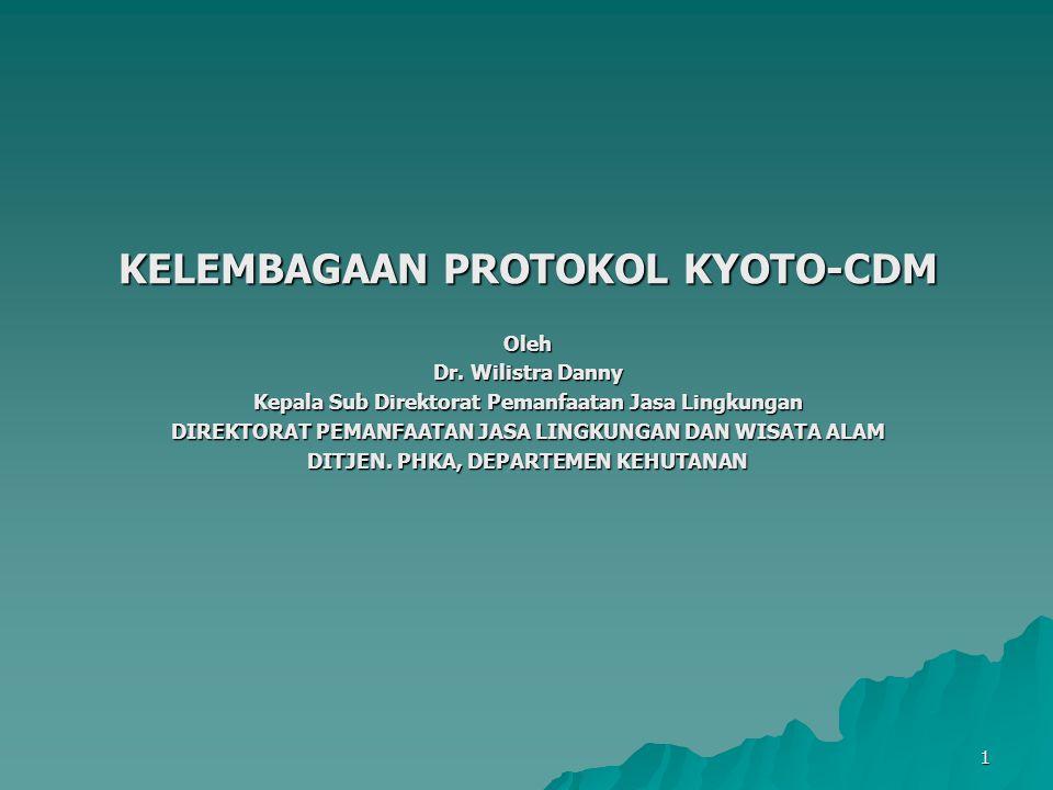 2 STRUKTUR PRESENTASI 1.Protokol Kyoto 2. Mekanisme dalam Protokol Kyoto 3.