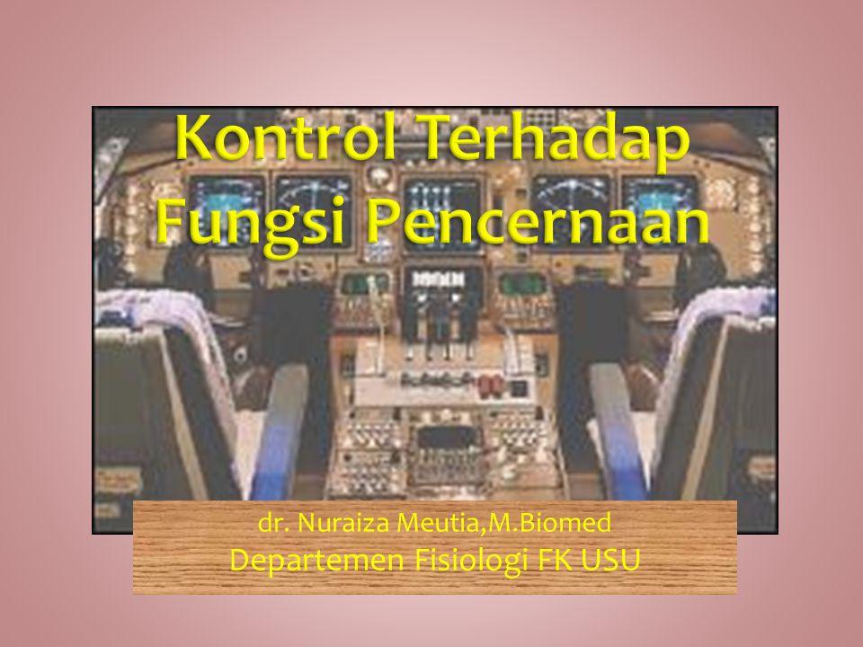 dr. Nuraiza Meutia,M.Biomed Departemen Fisiologi FK USU