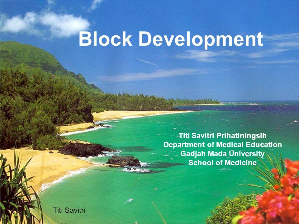 Design Block Implement Block Evaluate Block