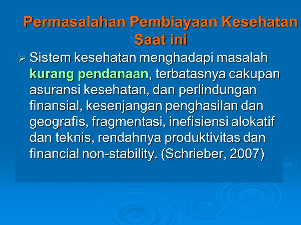 Indonesia National Health Accounts A.