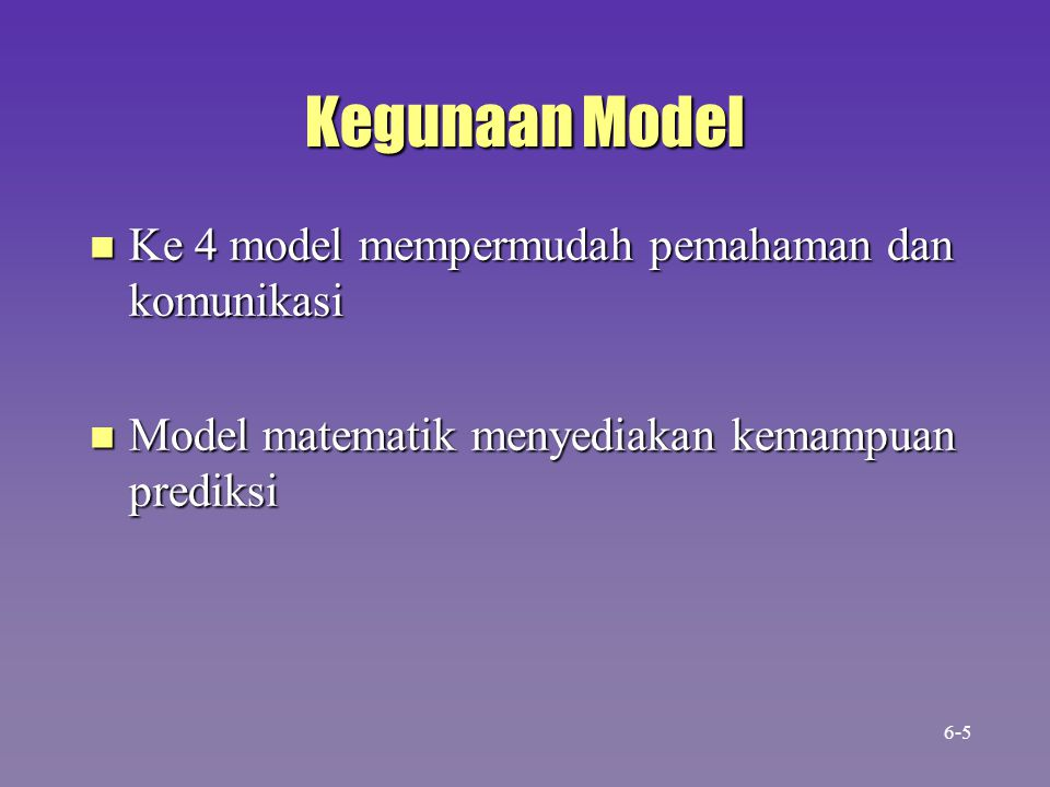 Marketing Subsystem Manufacturing Subsystem Finance Subsystem President Fungsi Area sebagai Subsistem Human Resources Subsystem Information Services Subsystem 6-36