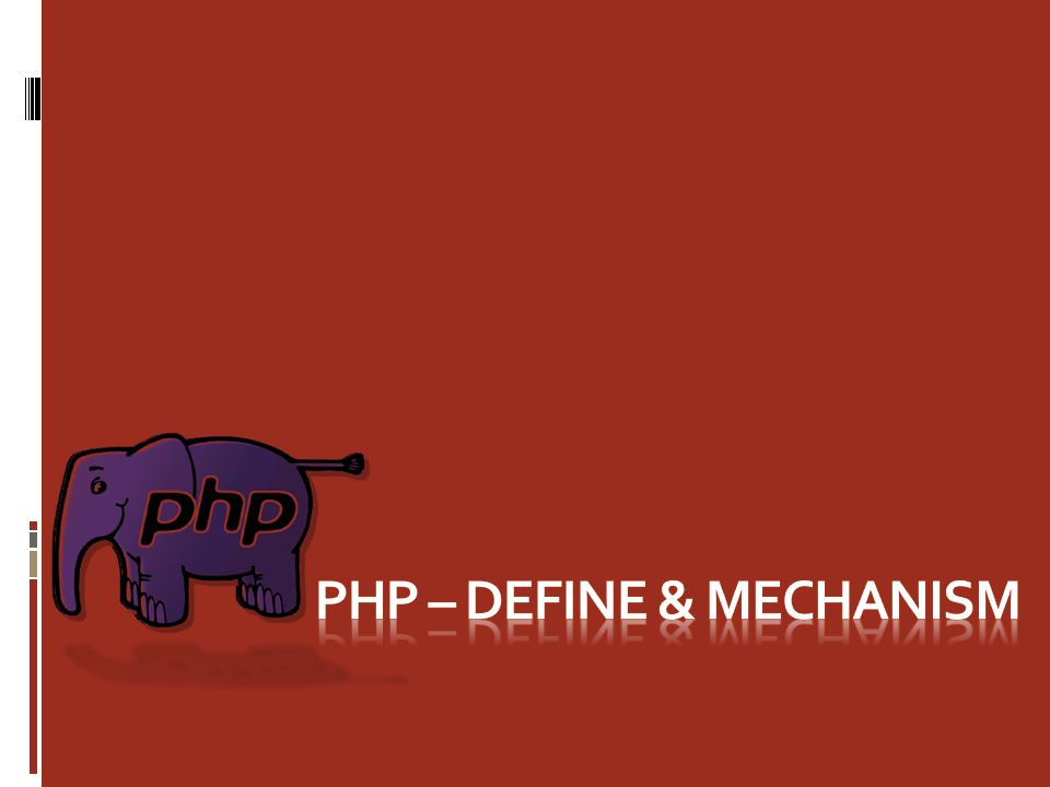 What is PHP.PHP is an HTML-embedded scripting language.
