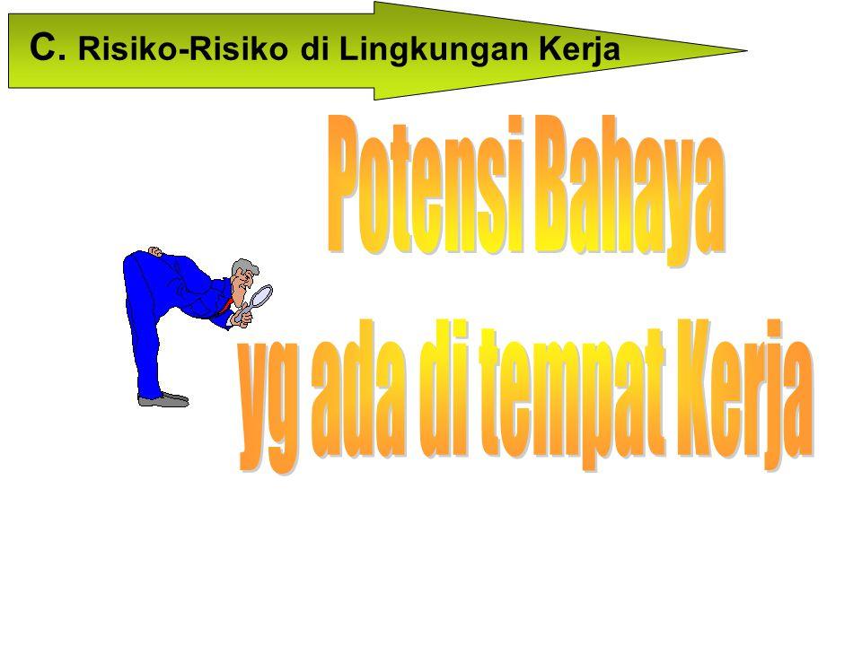 C. Risiko-Risiko di Lingkungan Kerja