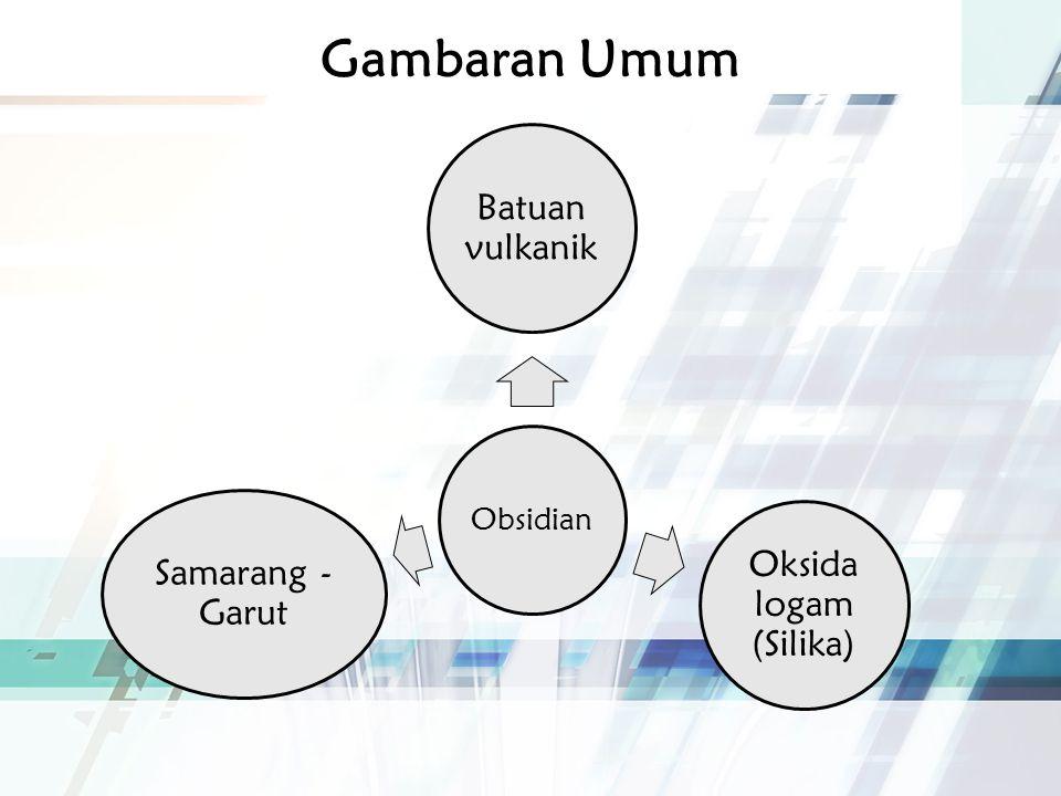 Gambar Obsidian Obsidian dari Samarang - Garut