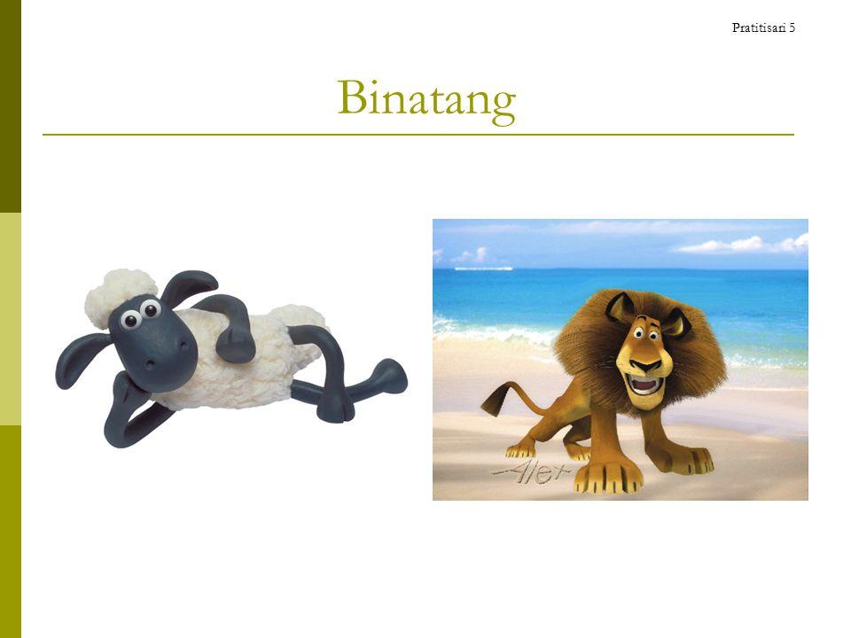 Binatang Pratitisari 5