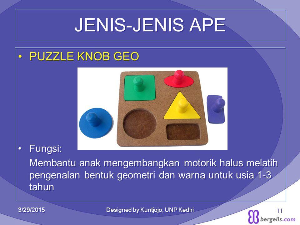 JENIS-JENIS APE PUZZLE KNOB GEO Fungsi: Membantu anak mengembangkan motorik halus melatih pengenalan bentuk geometri dan warna untuk usia 1-3 tahun PU