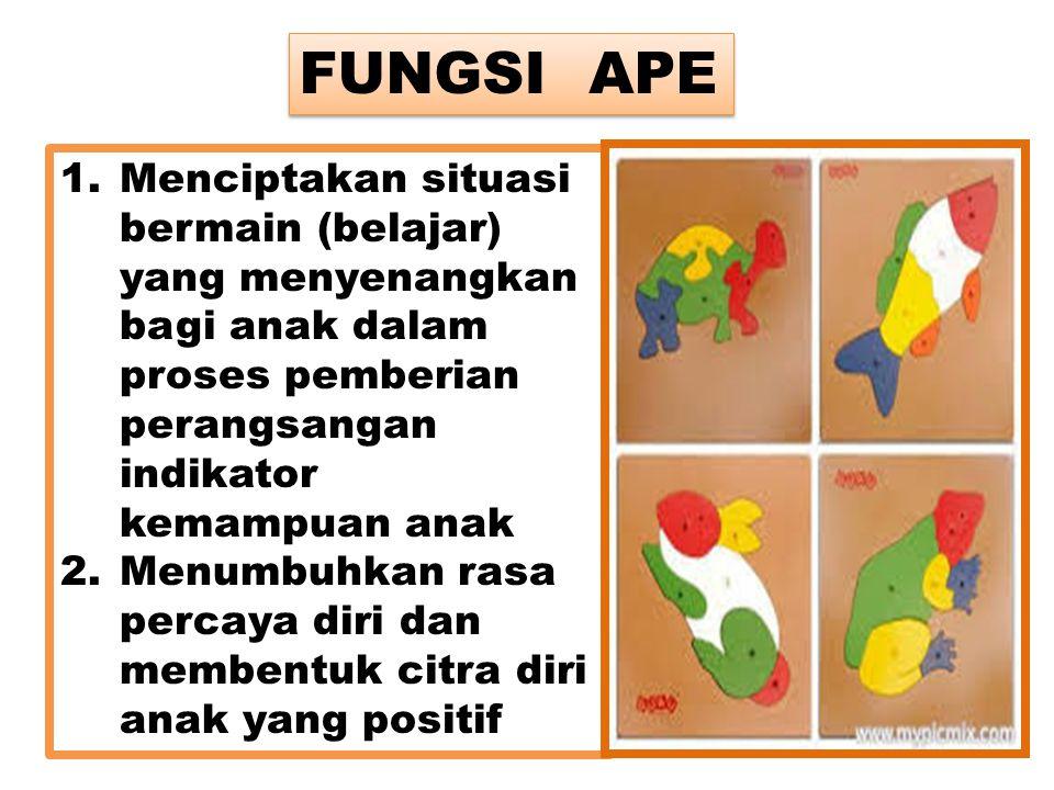 1.Menciptakan situasi bermain (belajar) yang menyenangkan bagi anak dalam proses pemberian perangsangan indikator kemampuan anak 2.Menumbuhkan rasa pe