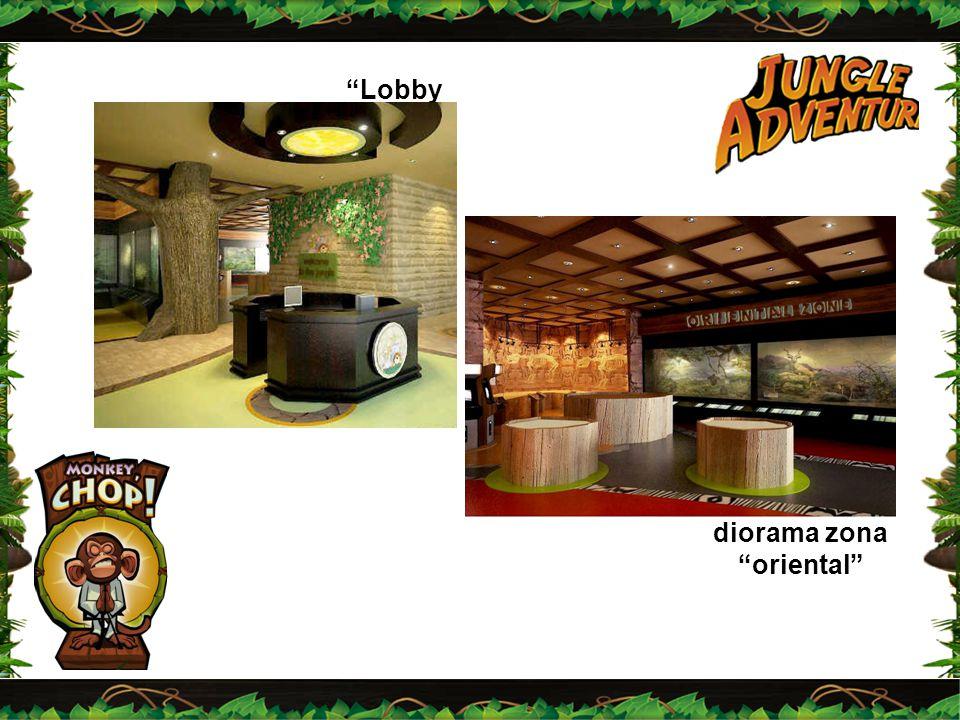 """""""Lobby """" diorama zona """"oriental"""""""