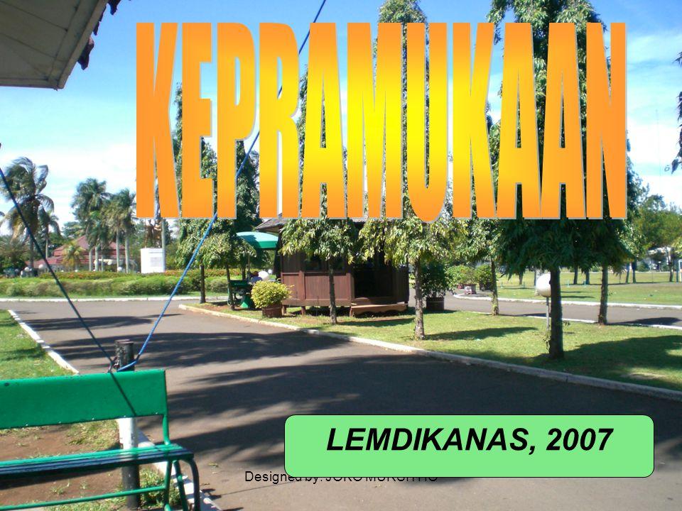 Designed by: JOKO MURSITHO LEMDIKANAS, 2007
