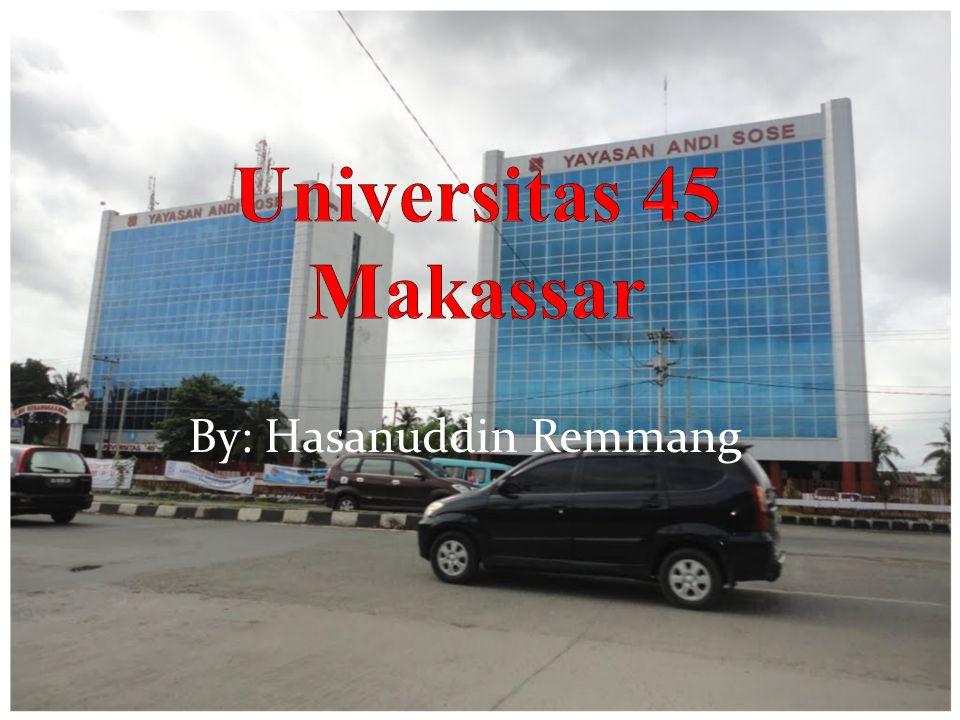 By: Hasanuddin Remmang