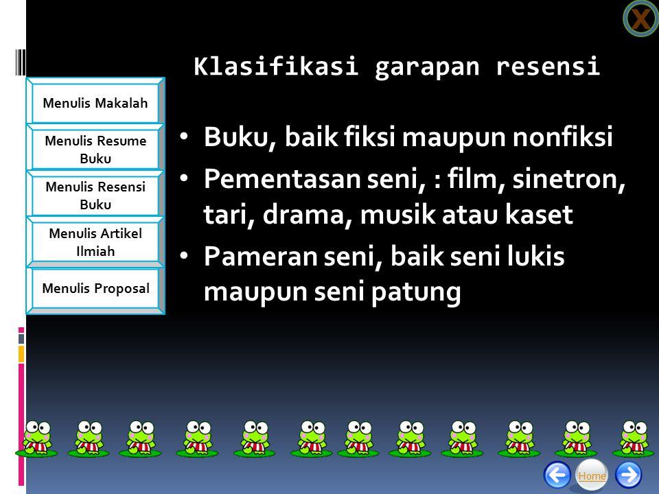 Menulis Makalah Menulis Resume Buku Menulis Resensi Buku Menulis Proposal Menulis Artikel Ilmiah Lanjutan...