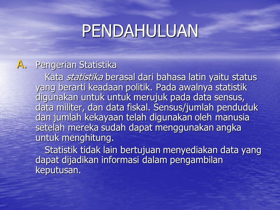 PENDAHULUAN A.