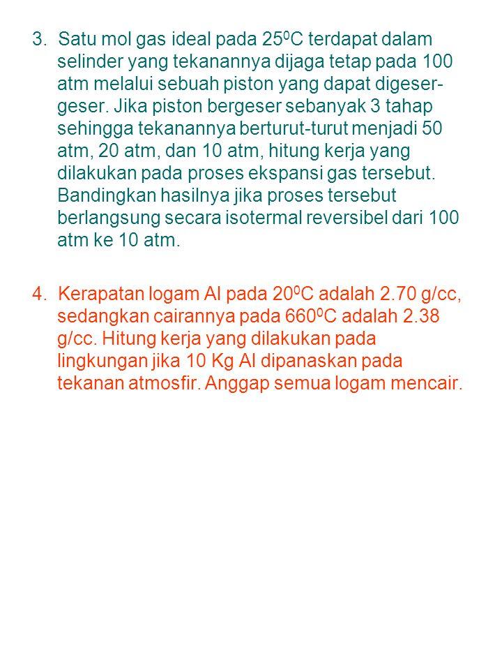 ● Kapasitas kalor (C): jumlah kalor yang diperlukan untuk menaikkan suhu suatu zat 1 o C Aliran Q: dari T >> T << Faktor: jumlah zat dan jenis zat/molekul perubahan suhu ● Kalor q = m.