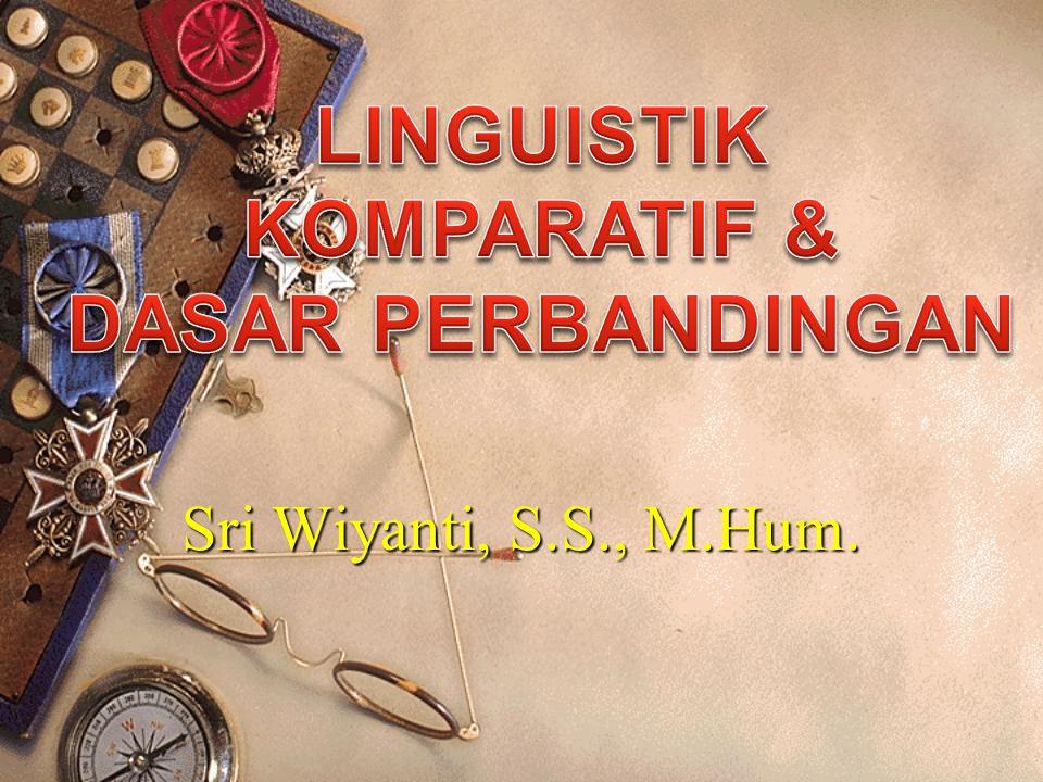 Sri Wiyanti, S.S., M.Hum.