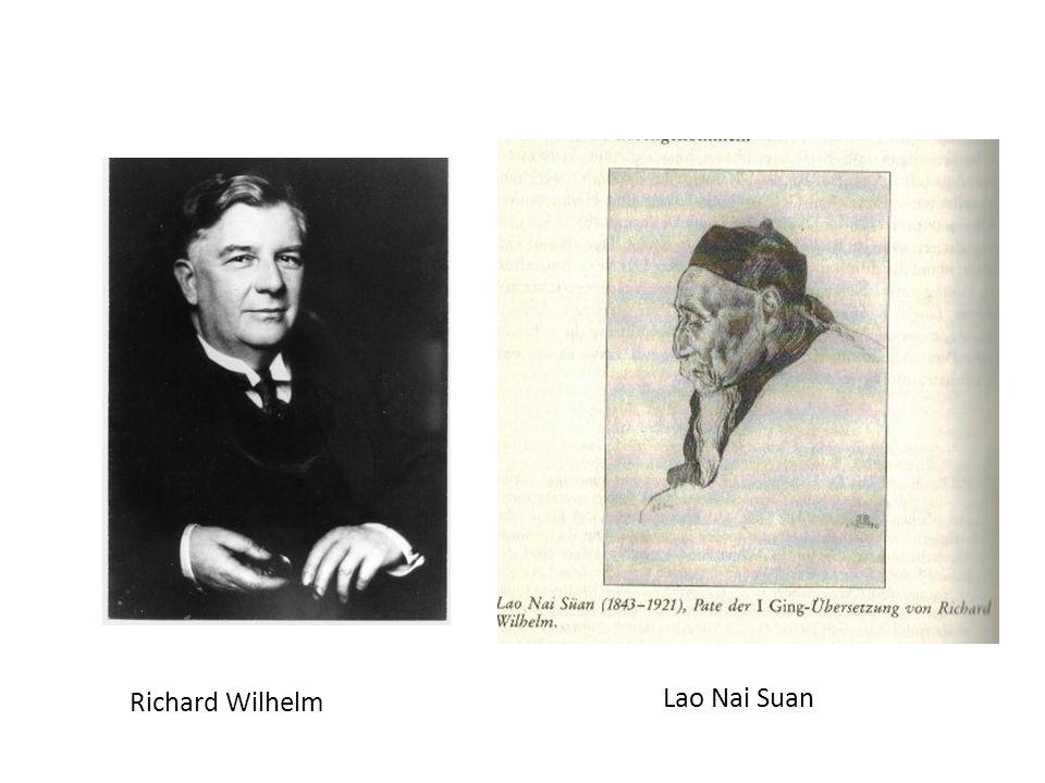 Richard Wilhelm Lao Nai Suan