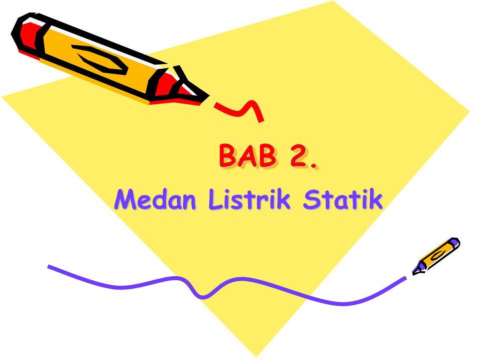 BAB 2. Medan Listrik Statik
