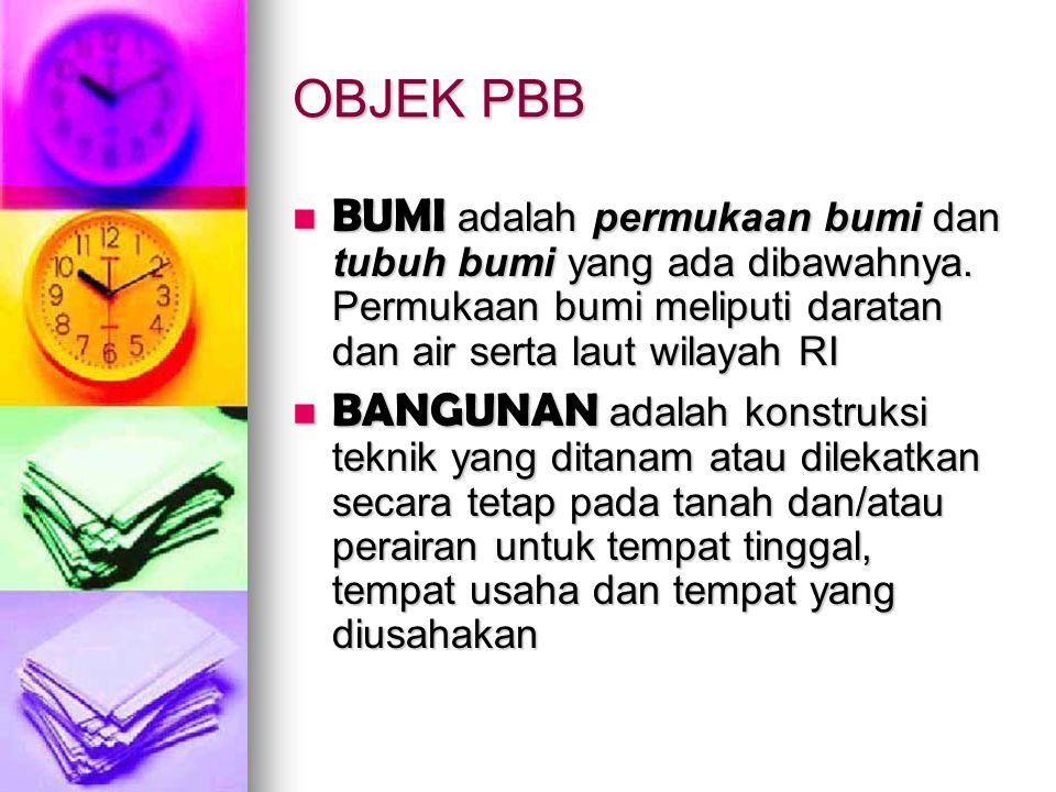 Soal 2 ;WP Nama Bambang punya objek PBB di 2 kota, Jakarta dan Semarang.