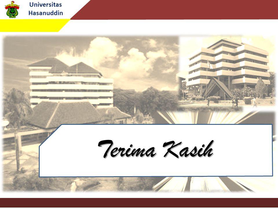 Universitas Hasanuddin Terima Kasih