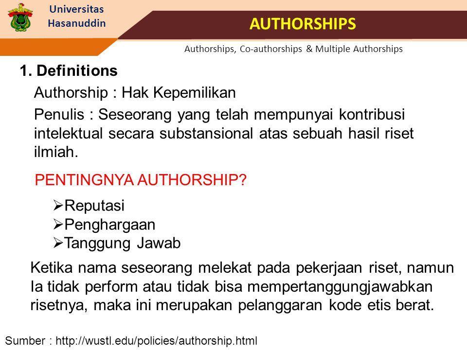 Universitas Hasanuddin Website : http://doaj.org/ Why Need to Publish in TR (ISI WoS) .