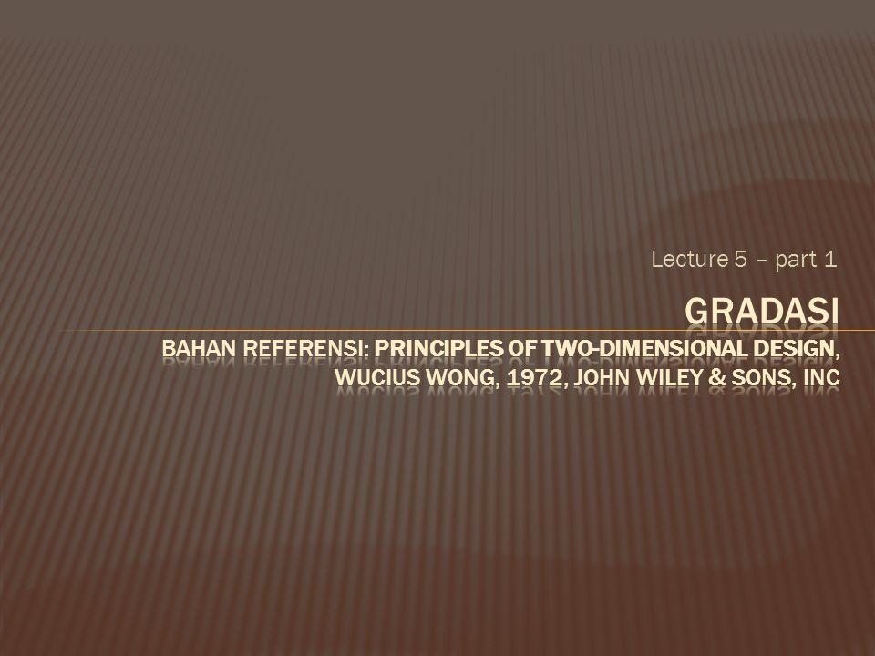 Lecture 5 – part 1