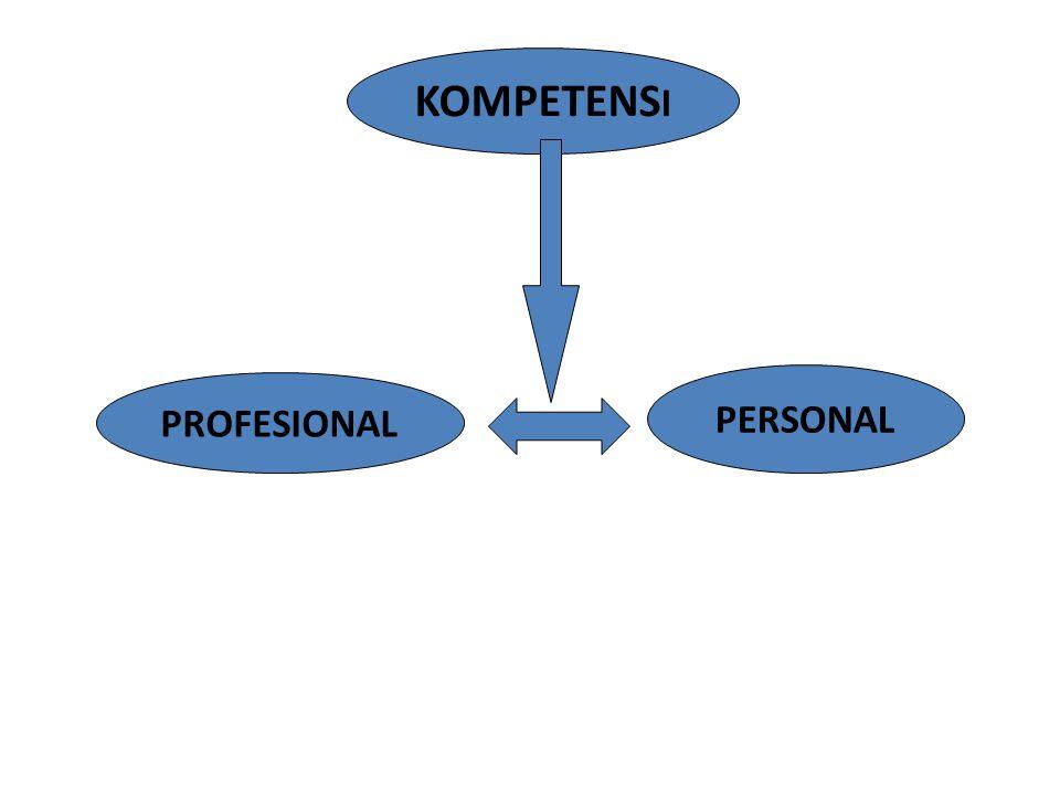 KOMPETENS I PROFESIONAL PERSONAL