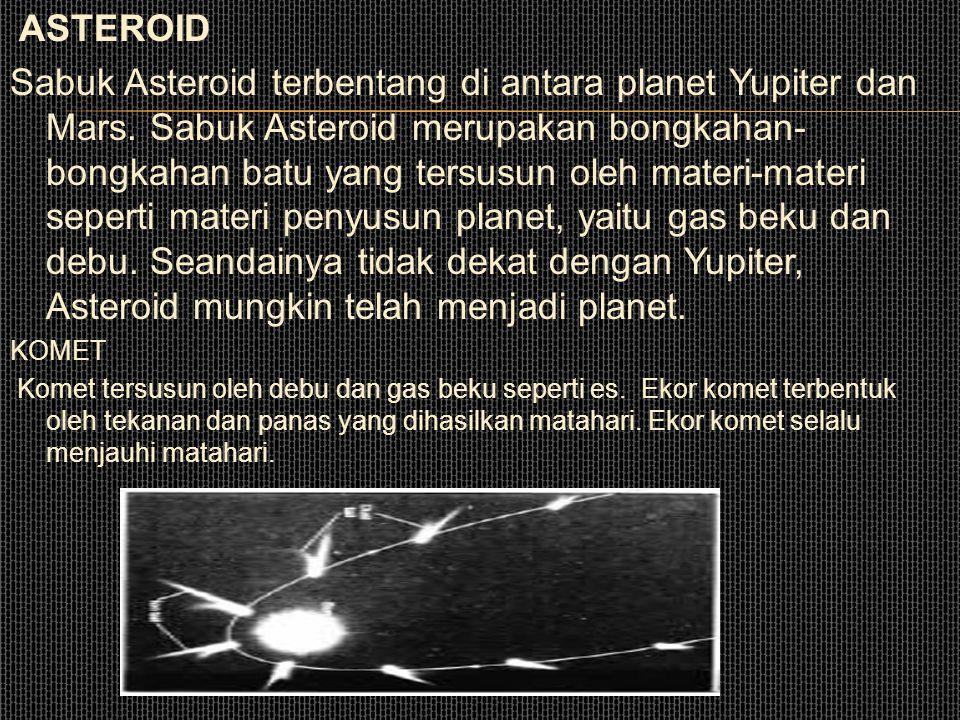 Saturnus memiliki 18 satelit.