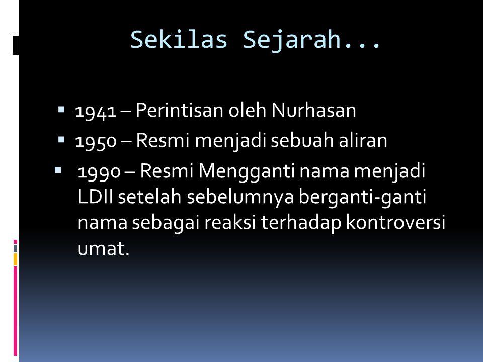Sekilas Sejarah...