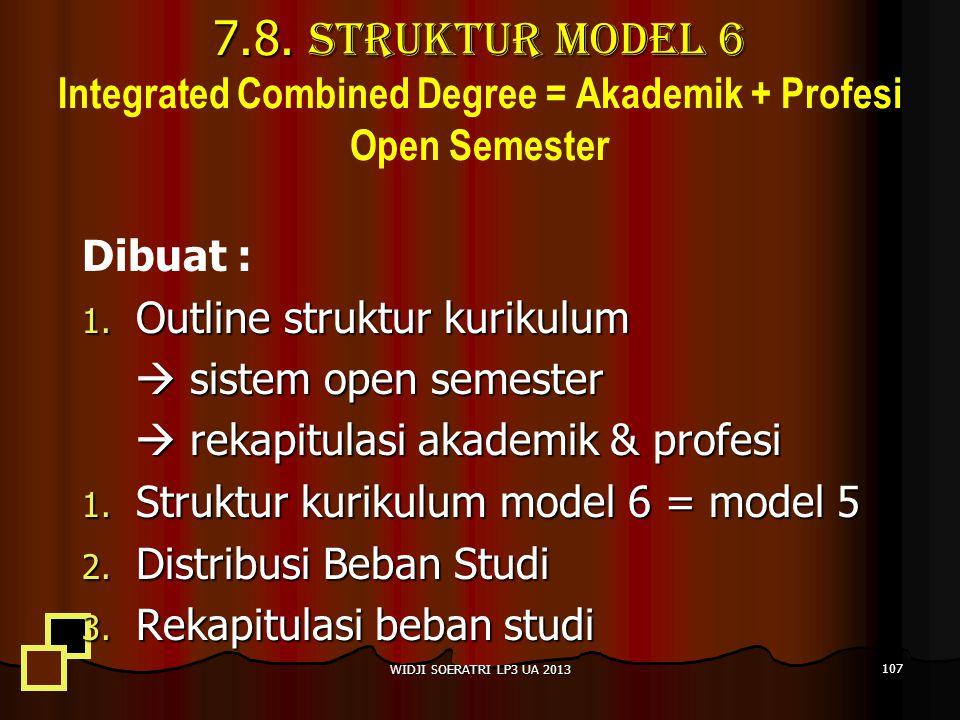 7.8.Struktur Model 6 7.8.