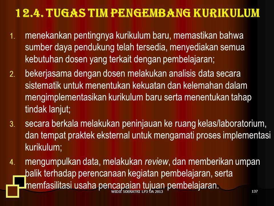 12.4.TUGAS TIM PENGEMBANG KURIKULUM 1. 1.