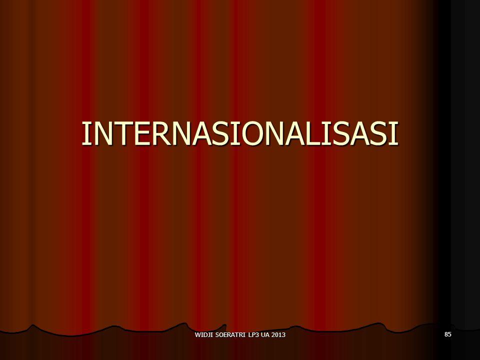 INTERNASIONALISASI WIDJI SOERATRI LP3 UA 2013 85