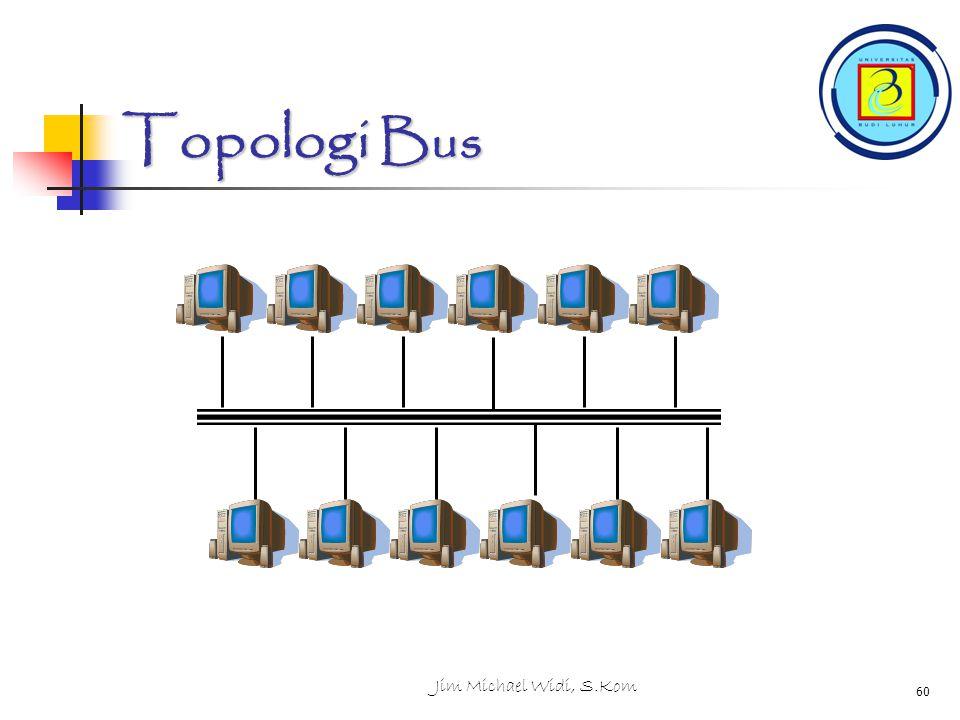 Jim Michael Widi, S.Kom 60 Topologi Bus